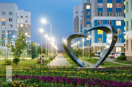 В Академическом районе Екатеринбурга такая атмосфера уже очень развита