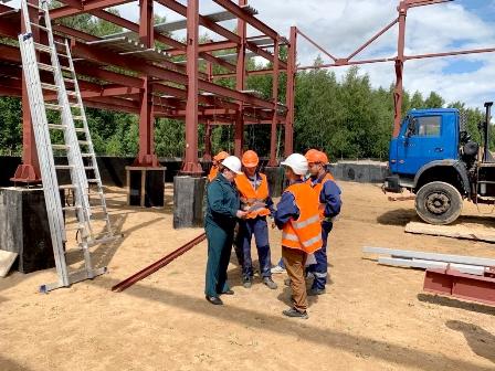 Строительство цеха по производству металлической тары в Дмитровском районе планируется завершить до конца 2019 года!