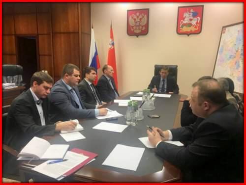 Максим Фомин провел встречу с инициативной группой дольщиков Подмосковья!