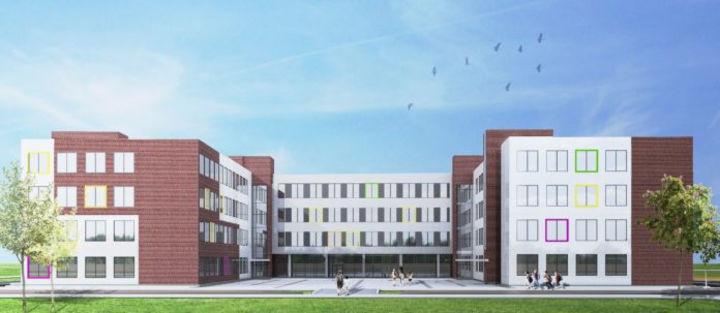 В подмосковном микрорайоне Климовск Подольска построят новую школу на 825 мест!