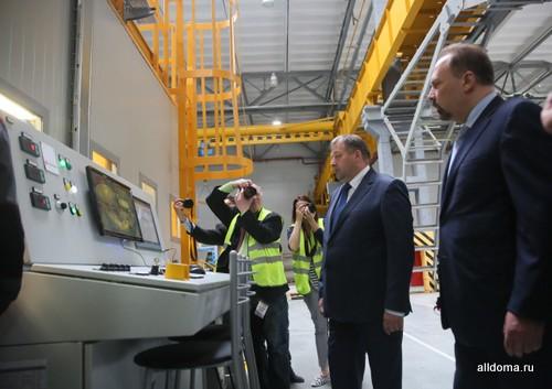 Предприятие станет одним из крупнейших в Европе, на заводе Лоджикруф ПИР установлена уникальная производственная линия, не имеющая аналогов в мире.