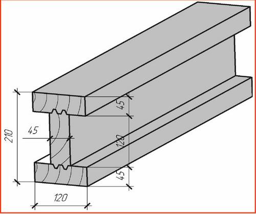Как сделать деревянные двутавровые балки перекрытия своими руками 33